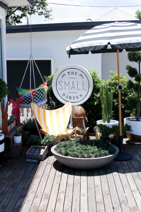 The small garden for Boutique design consultancy